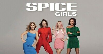 2 Spice Girls 'GOLD Spice Circle' Standing Tickets - Manchester Etihad 31/5/19