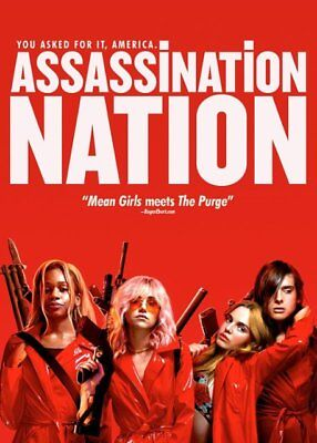 Assassination Nation (New,2018,dvd,release) You Asked For It,free Shipping...