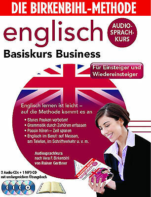 Birkenbihl English Basiskurs Business CD+Booklett Ein+Wiedereinsteiger Neu+Folie
