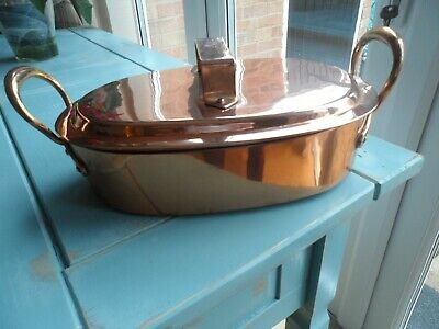 Vintage Copper Cooking Pot