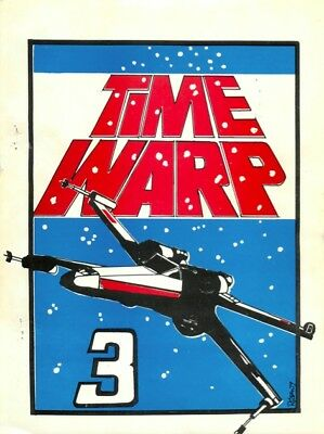 "Star Wars Multimedia Fanzine "" Time Warp 3, 4 6/7 V.1, 6/7 V.2, "" Gen Star Trek"
