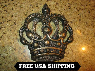 Crown, Wall Plaque, Old World, Medieval, Fleur de Lis, Cross, Queen, King, New