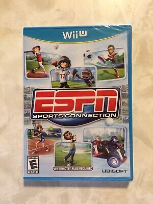 ESPN Sports Connection (Nintendo Wii U, 2012) Brand New Factory Sealed