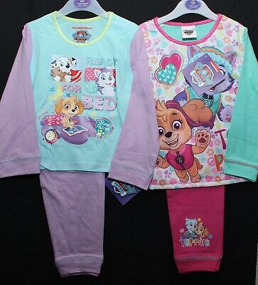 Girls PAW PATROL Pyjamas/ Long-Sleeved PJs in 2 styles NWT 18 Months-5 Years