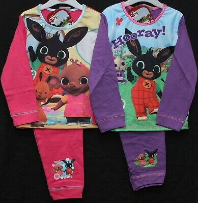 Girls BING Pyjamas BING BUNNY Long-Sleeved PJs in 2 styles NWT 18 Months-5 years