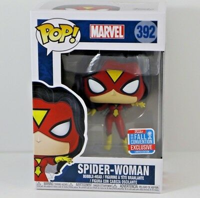 Funko POP! Marvel Spider-Woman #392 2018 Fall Convention Exclusive Brand New!!!!