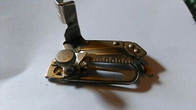 Simanco 35931 Adjustable Hemmer Foot Singer Sewing Machine Attachment Vintage