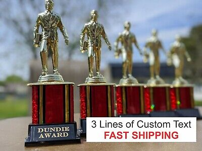 Dundie Trophy Award custom engraving The Office Tv Show  SHIPS NEXT DAY