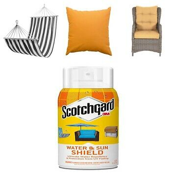 Scotchgard Water and Sun Shield with UV Protector,1 Can 10.5 Ounces ORIGINAL