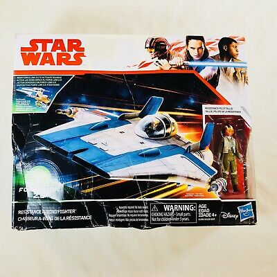 Star Wars Force Link 2.0 Resistance A-Wing Fighter New