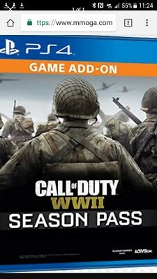 call of duty ww2 ps4 season pass