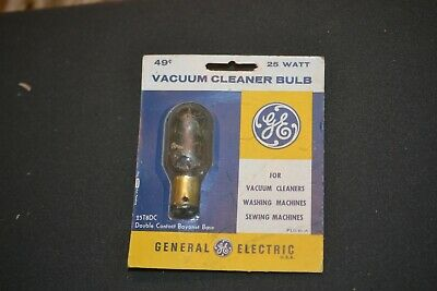 Discontinued NOS GE Model 25T8DC CLEAR Double Contact Bayonet Lamp Bulb