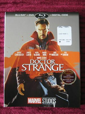 Marvel Doctor Strange 2018 Blu-Ray Slipcover Only (No Movie) Free Shipping!