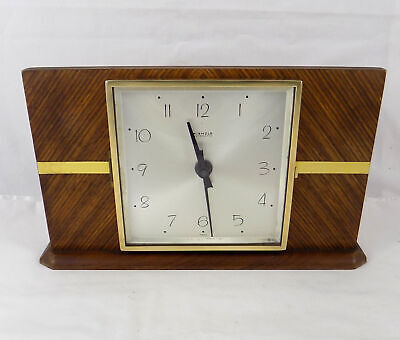 Nice Vintage Kienzle Automatic Electro Mechanical Mantel Clock - Fully Working