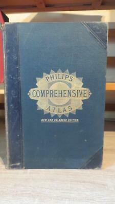 """1894 """"philips Comprehensive Atlas Of Ancient & Modern Geography -Great Reference"""