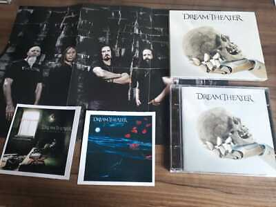 Distance over time by Dream Theater (Cd, Stickers, slipcase, poster, 2019) New