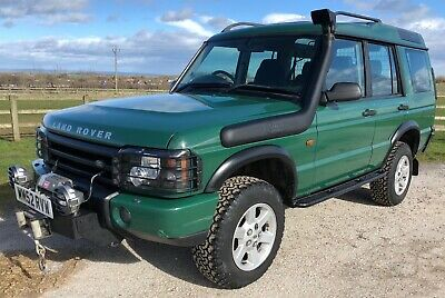 2003 Land Rover Discovery 2 Td5 GS Auto Off Road / Expedition inc. G4 Warn Winch