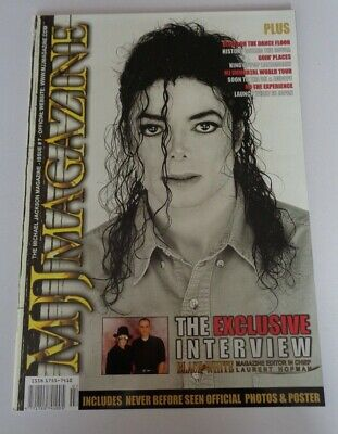 Michael Jackson Mjj Magazine Issue 7 - Includes Pull Out Poster