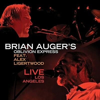 Brian's Oblivion Express Auger-Live In Los Angeles(Feat Alex Ligertwood 2Cd New
