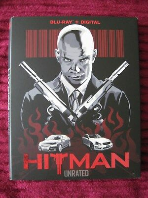 Hitman Unrated Blu-Ray Slipcover Only (No Movie) Free Shipping! - Rare Htf Oop