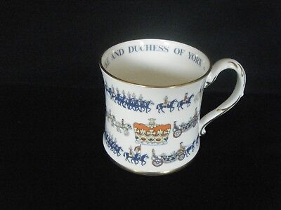 Coalport Commemorative Collectors Mug Limited Edition Duke And Duchess Of York