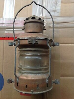Old Ships Lamp..genuine antique..little or never used
