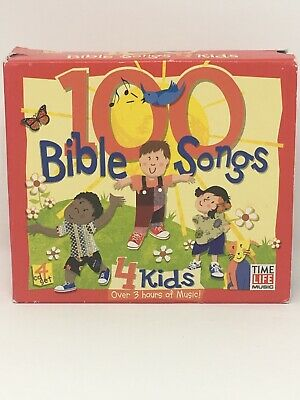 100 BIBLE SONGS 4 Kids, Over 3 Hours of Music! 4-CD Set by Time Life Music