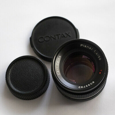 Zeiss Planar 50mm 1.4 Contax Yashica