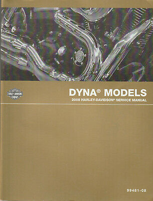 2008 Harley-Davidson Dyna Model Service Manual 99481-08 LCEB4