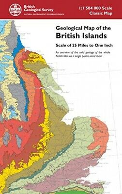 Geological Map of the British Islands - An overview of the bedrock geology ...