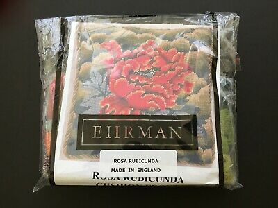 Ehrman Tapestry Rosa Rubicunda Needlepoint Kit by Kaffe Fassett/Appletons Wool