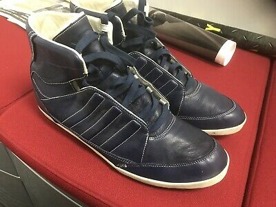 b0780ff2e ADIDAS Y-3 BY Yohji Yamamoto Honja High-Top Sneakers Black   Blue ...