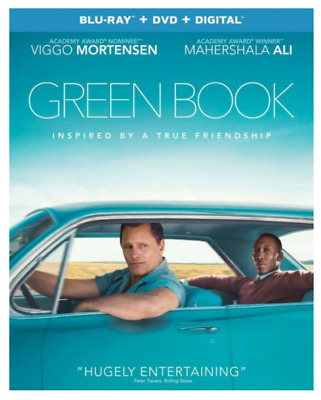"""GREEN BOOK"" [Blu-ray, DVD, Digital] - NEW Factory Sealed + Slipcover"