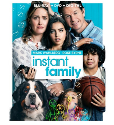 """""""Instant Family"""" [Blu-ray, DVD, Digital] - NEW Factory sealed + Slipcover"""