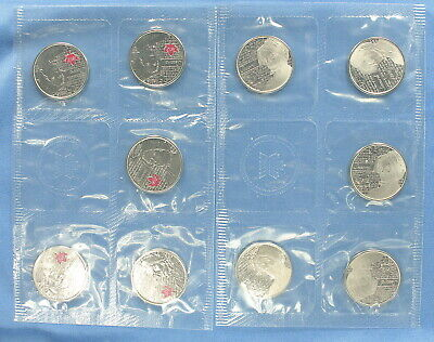 Canada 2013 - War of 1812  - Laura Secord  - Mint Pack of 10 Quarters
