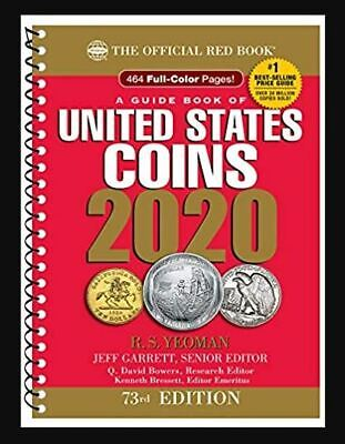 A Guide Book of United States Coins 2020 73rd Edition by (Spiral-bound, 2019) r