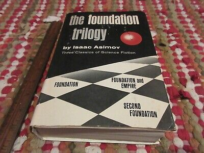 Isaac Asimov the Foundation Trilogy Hardcover Book Club Edition 1951