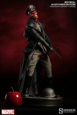 Red Skull Premium Format Exclusive Statue Sideshow Collectibles