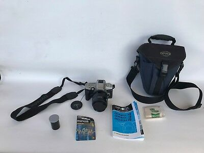 Vtg lot SLR camera Minolta maxxum 4 dynax 3 35-70mm af zoom 49mm filter bag