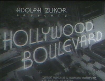 Hollywood Boulevard1936 (Dvd) John Halliday
