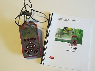 Quest Technologies 3M NoisePro DL Noise Dosimeters with Microphone and Manual