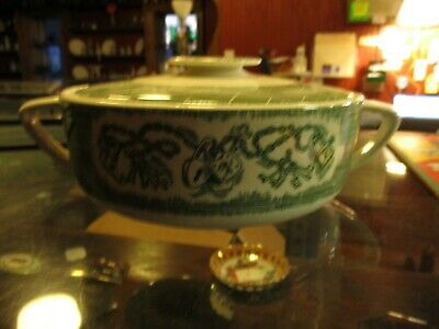 Currier and Ives -The Old Curiosity Shop Round Covered Casserole