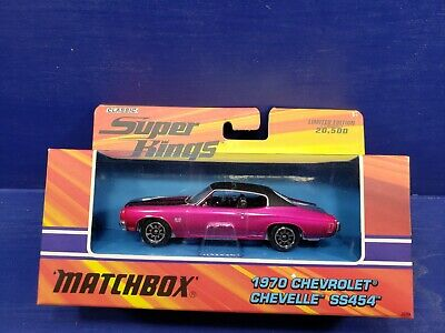 2005 Matchbox Classic Super Kings Pink 1970 Chevrolet Chevelle SS454 1/43