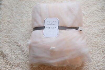 pottery barn kids monique lhuillier Ethereal Tulle crib Skirt original $129