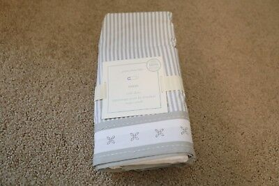 pottery barn kids reese crib skirt original $79 one size new limited edition
