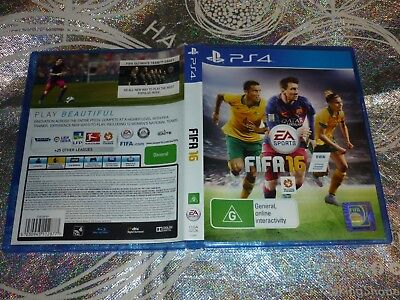 Fifa 16 (Sony Ps4 Game, G)