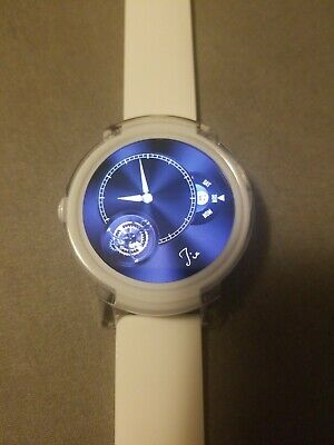 Mobvoi - Ticwatch E Smartwatch Ice (White) works with IOS and Android