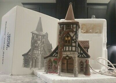 Dept 56 Dickens Village Heritage Collection - Old Michael Church 1992 Never Used