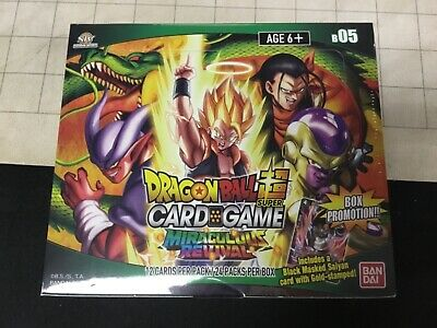 Dragon Ball Super Miraculous Revival Booster Box B 05 Factory Sealed