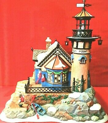 Dickens' Village, Dept 56, Lynton Point Tower, Hand-Painted Building